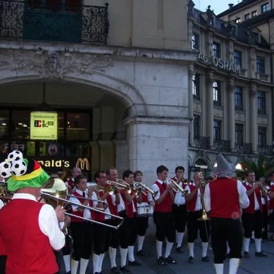 Volksmusiker - Marienplatz