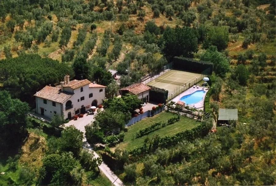 Villa Valentini, Pian di Sco (AR)