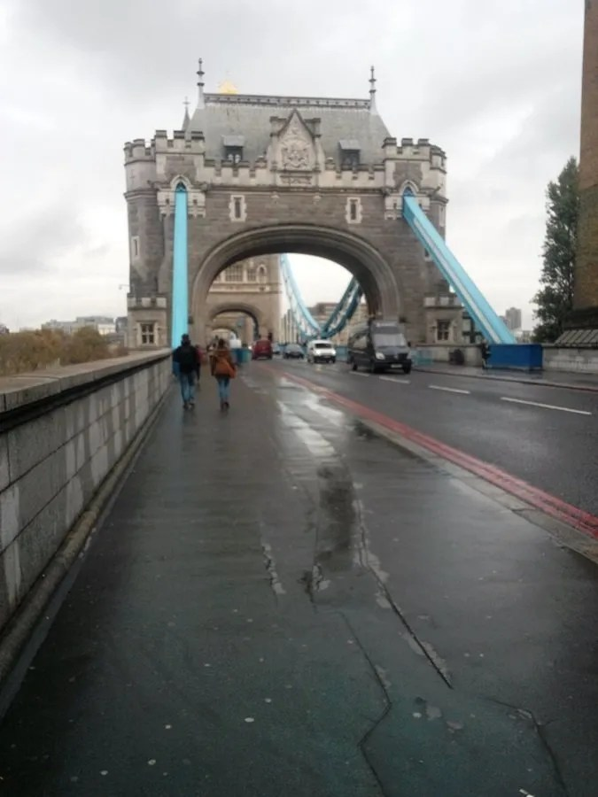 Panorama dal Tower bridge