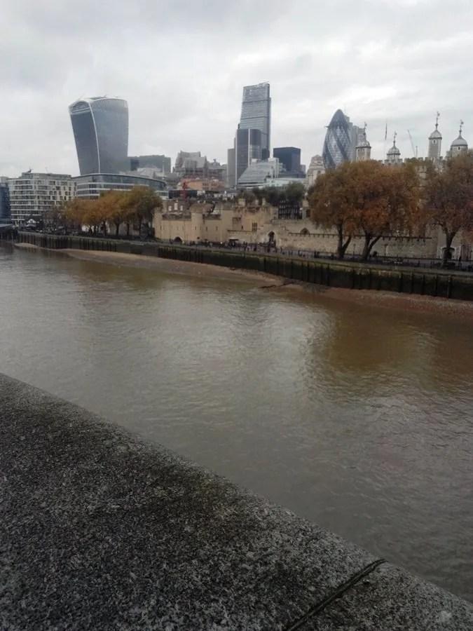 Panorama dal Tower bridge