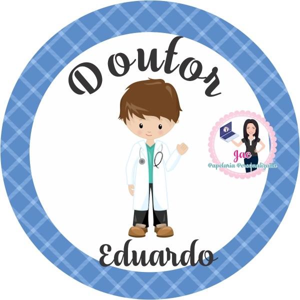 100 Tags Adesivo Personalizados - Tema Medicina E ...