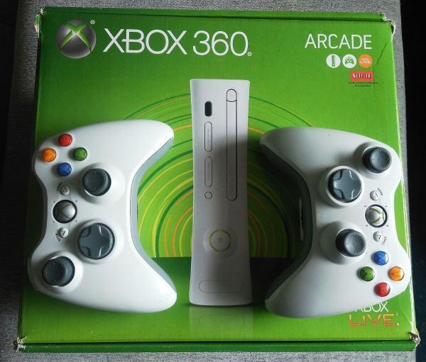 Xbox 360 Arcade Branco R 90690 em Mercado Livre