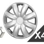 Dbcar Accesorios 4 Tazas Renault Clio Kangoo 2006 2007 2008 2009 R14 Logo 2 500 00