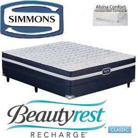 sommier colchon simmons beautyrrest classic 180 x 200 king