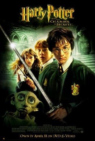 Harry Potter y La Cámara de los Secretos.
