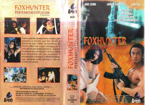 Poster do filme Foxhunter - Perseguição Explosiva