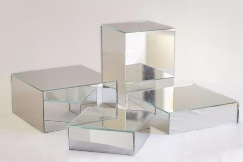 Resultado de imagen de espejos base para centros de mesa