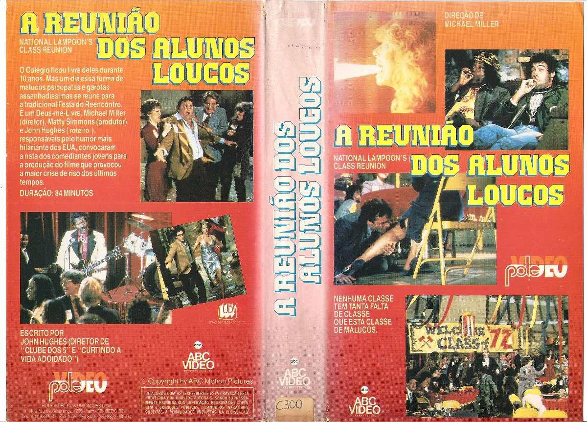 Poster do filme A Reunião dos Alunos Loucos