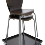 Alera Stacking Chair Dolly 22 1 2w X 22 1 2d Negro 336 433 En Mercado Libre
