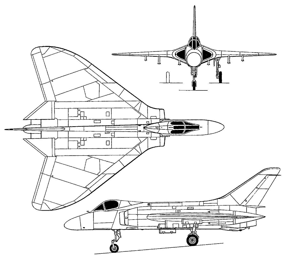 Avion A Escala Douglas Skyray 1 48 Lindberg