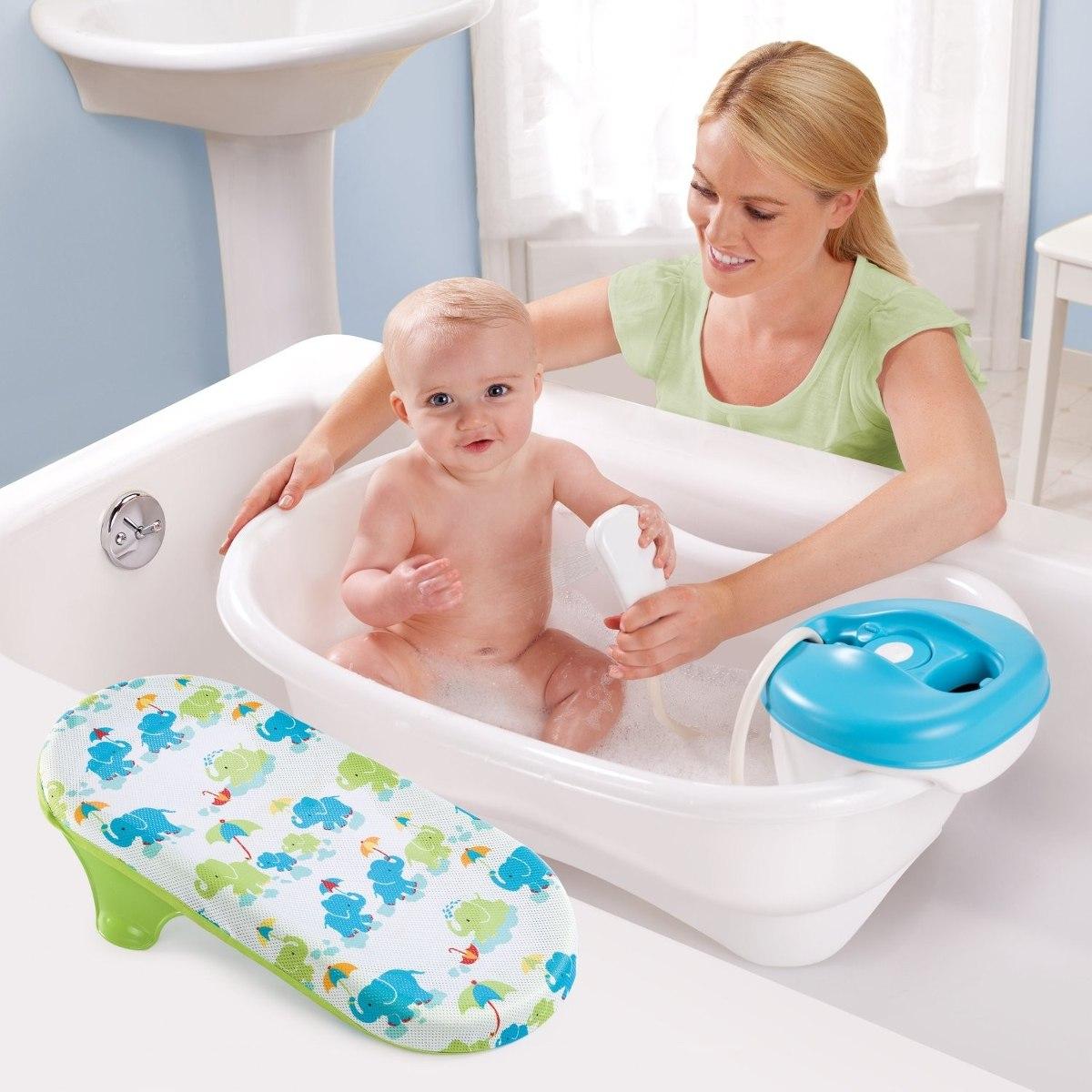 Baera De Lujo Para Bebe Con Regadera Summer Infant K