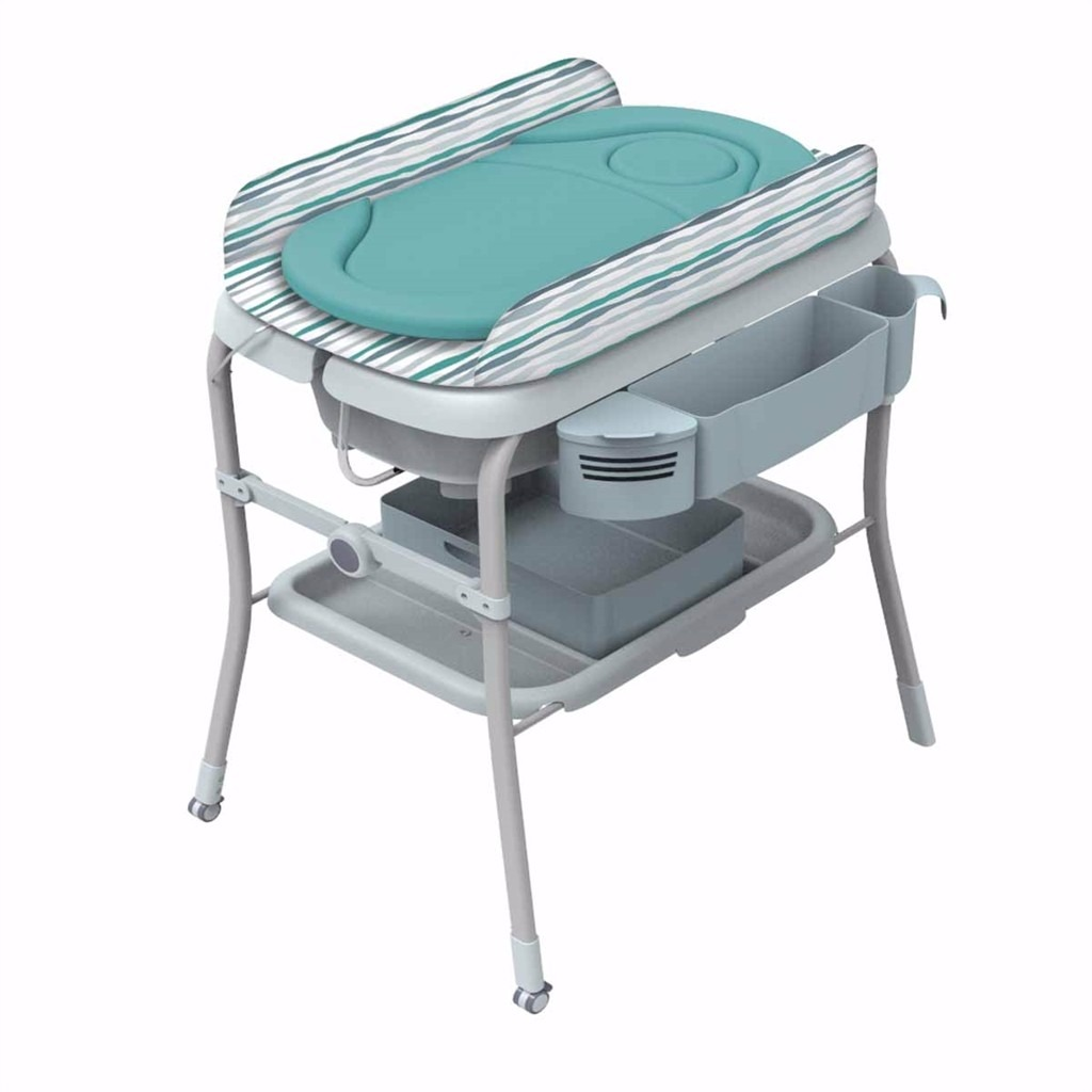 Baera Para Beb Plegable Con Cambiador Chicco Azul Wild