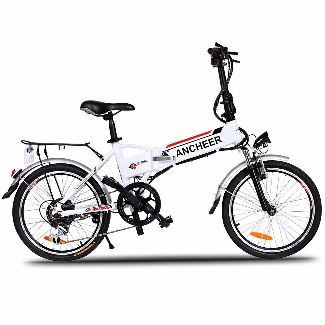 Bicicleta De Montana Electrica Plegable 250 W 7