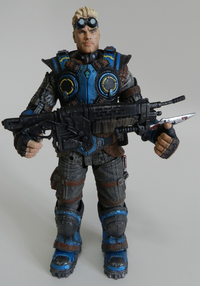 Boneco Damon Baird Gears Of War Judgement Neca R