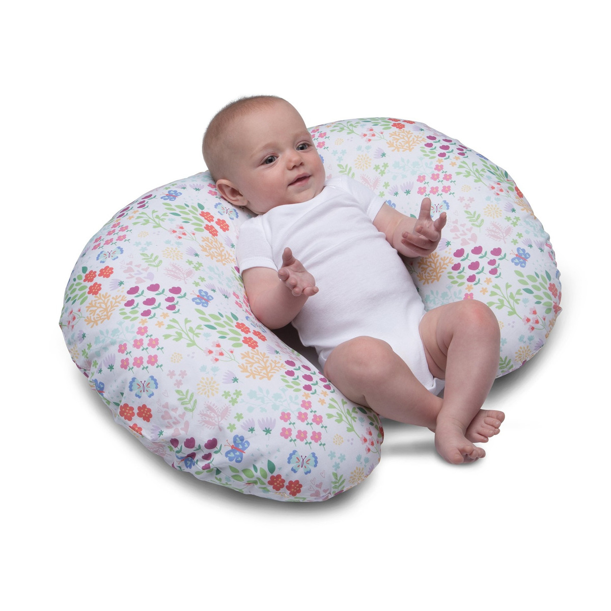 Boppy Nursing Pillow And Positioner Fiesta En El Jardin 329 900 En Mercado Libre