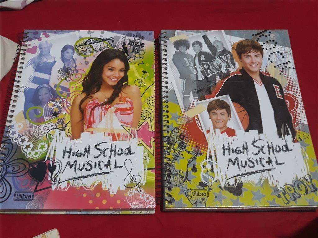 Cadernos High School Musical Hsm