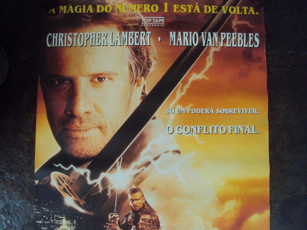 Poster do filme Highlander 3 - O Feiticeiro