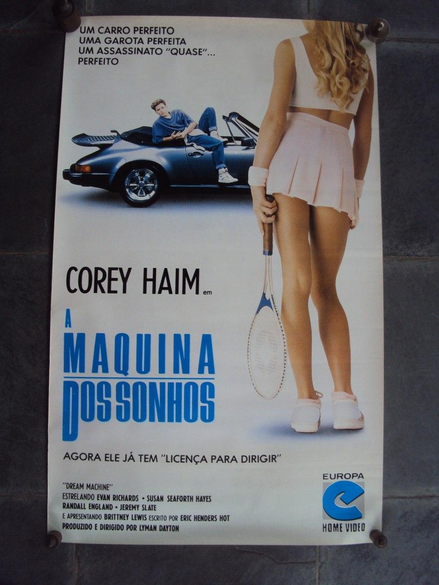 Poster do filme A Máquina dos Sonhos