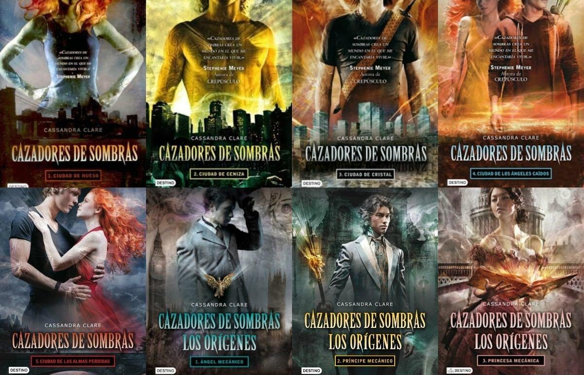 Cazadores De Sombras (6 Libros) + Los Origenes (3 Libros