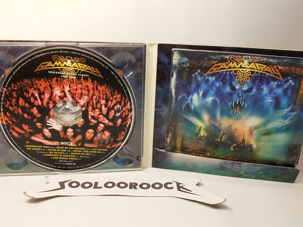 Cd Gamma Ray Skeletons In The Closet Digipack 2cds 500 00