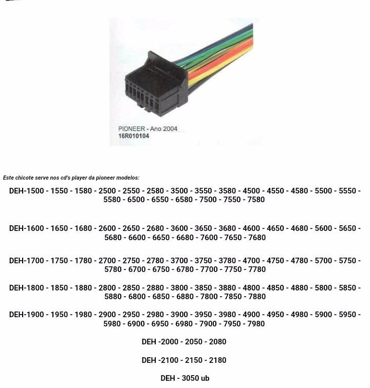 Pioneer Deh 2000 Wiring Diagram - wiring diagrams