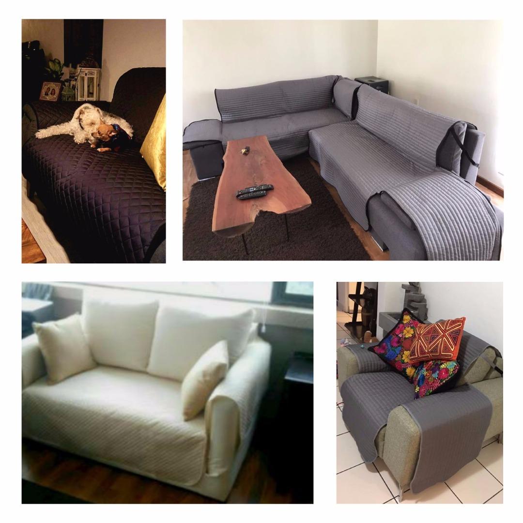 Cubre Salas Protector Couch Silln Sof 3 Plazas Funda 59000 En Mercado Libre