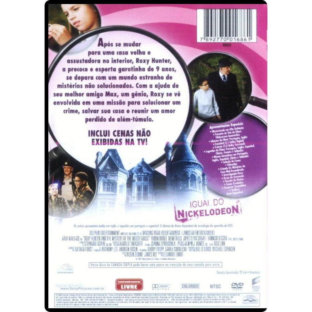 Poster do filme Roxy Hunter e Os Mistérios da Casa Mal-Assombrada