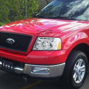 Faros Lupa Ojo Angel Led Ford F150 Lobo 2005 2006 2007 2008  $ 4,20000 en Mercado Libre