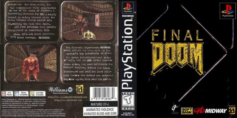 Final Doom - R$ 15,00 em Mercado Livre