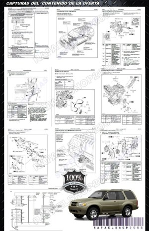 Ford Explorer 2002 2005 Manual De Taller Y Diagramas Español  $ 7900 en Mercado Libre