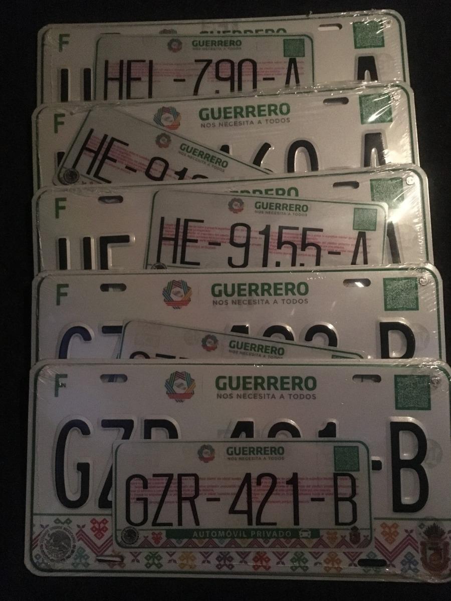 Placas Estado Mexico De