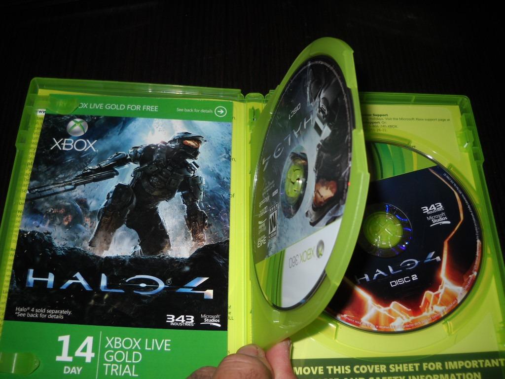 Halo 4 Juego Fsico Xbox 360 43000 En Mercado Libre