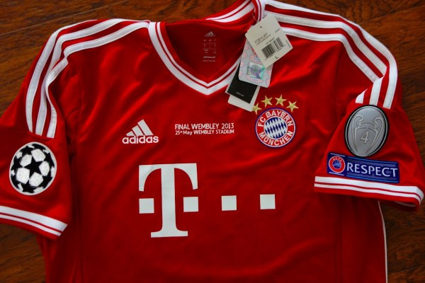 Jersey Bayern Munchen Local Original Final Champions ...