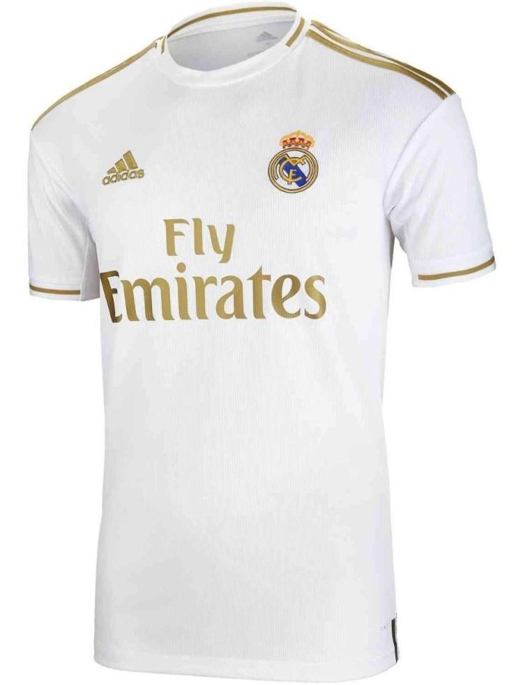 Jersey Real Madrid 2020 Verde Azul adidas Visita Nueva Ori ...