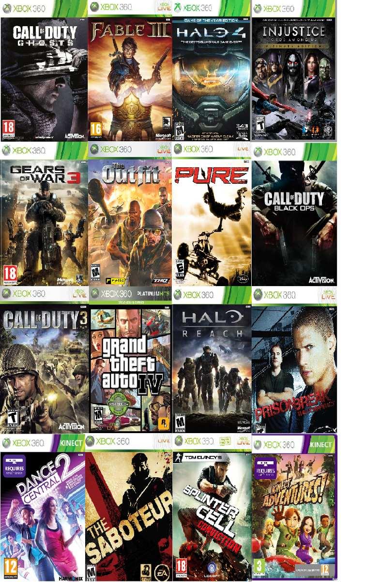 Cambio O Vendo Juegos Xbox 360 Y Kinect Precios Bajos S