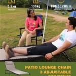 Kingcamp Patio Lounge Chair Folding Camping Cot Heavy Dut 688 900 En Mercado Libre