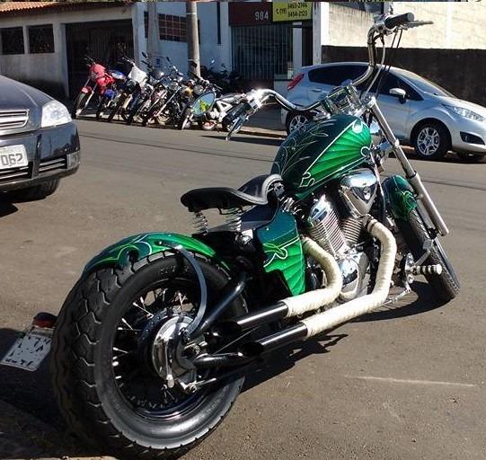 Kit Banco Solo Mola Shadow 600 Vt Vlx Custom Chopper Bobber R 979 99 Em Mercado Livre