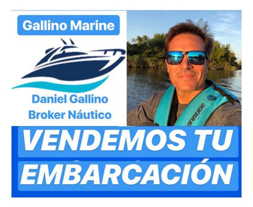 Lancha Quicksilver 2000 Evinrude 135 Hp 107hs Gallino ...
