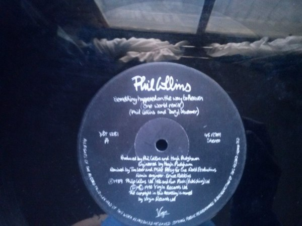 Lp Phil Collins Something Happened On The Way To Heaven ...