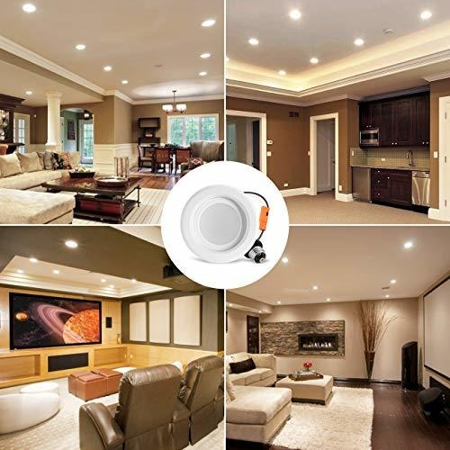 lvwit 4 led recessed light 9w dimmable