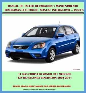 Manual De Taller Y Diagramas Eléctricos Kia Rio 20042011