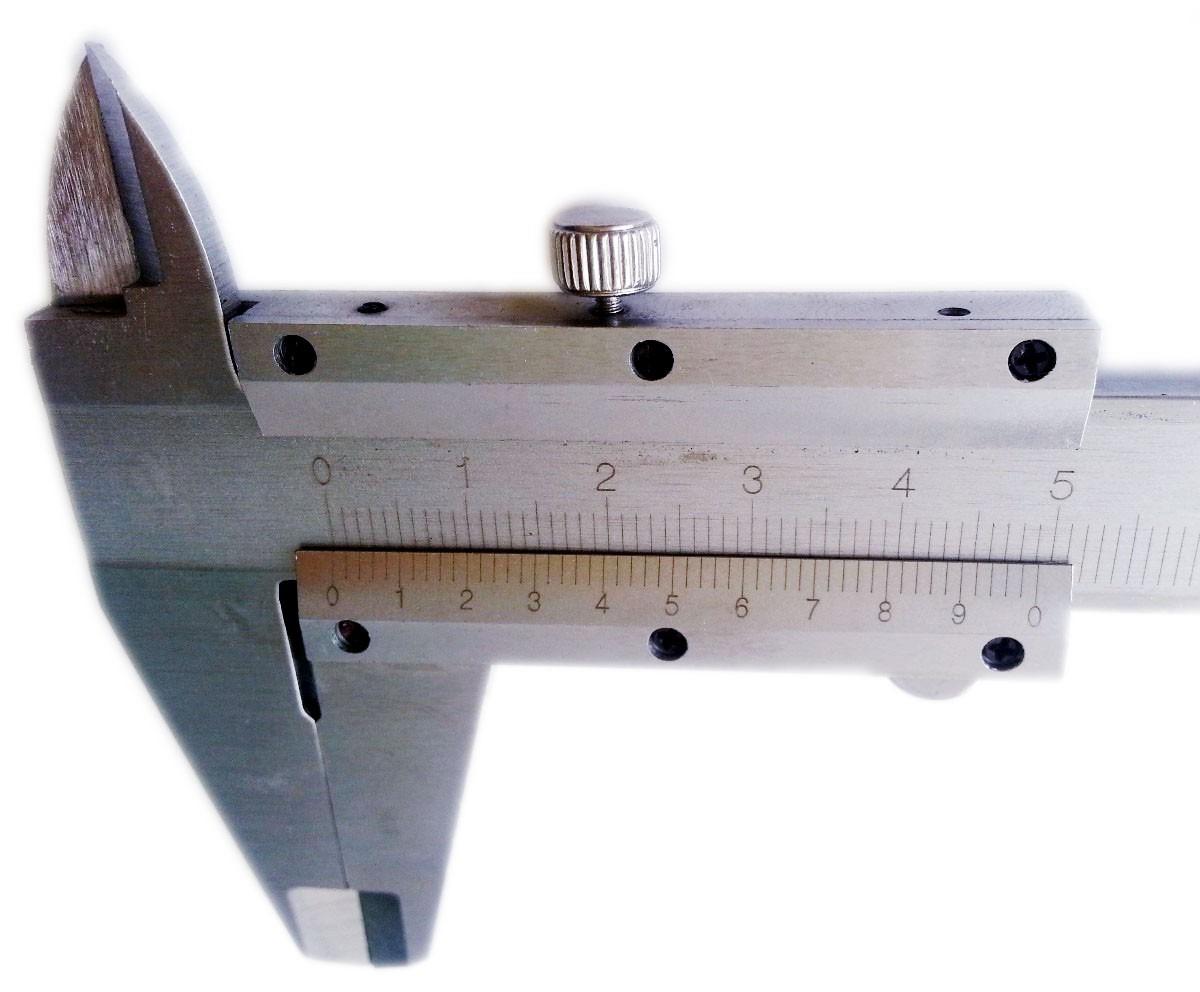 Micrometro Vernier Calibrador 150mm Acero Caliper Gauge