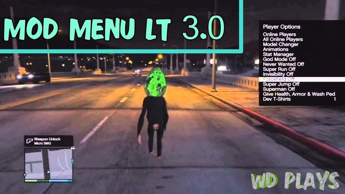 Mod Menu Para Gta V Online Xbox 360 Lt 30 20000 En
