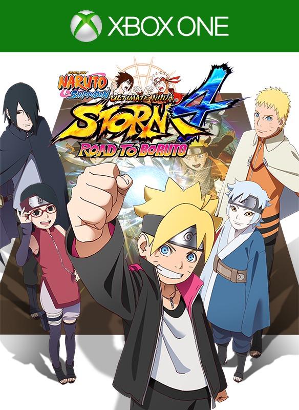 Naruto Storm 4 Road To Boruto Pacote Dlc Extras Xbox