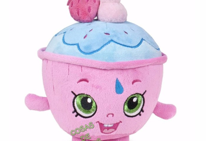 Tv Movie Character Toys Shopkins Cupcake Chic Purple Cute Kids Fun