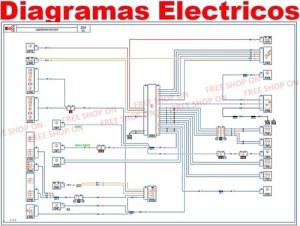 Renault Visu Diagramas Esquemas Electricos Clio Twingo Sceni  Bs 699999,99 en Mercado Libre