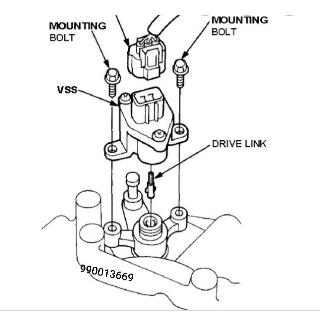 Sensor De Velocidad Honda Civic