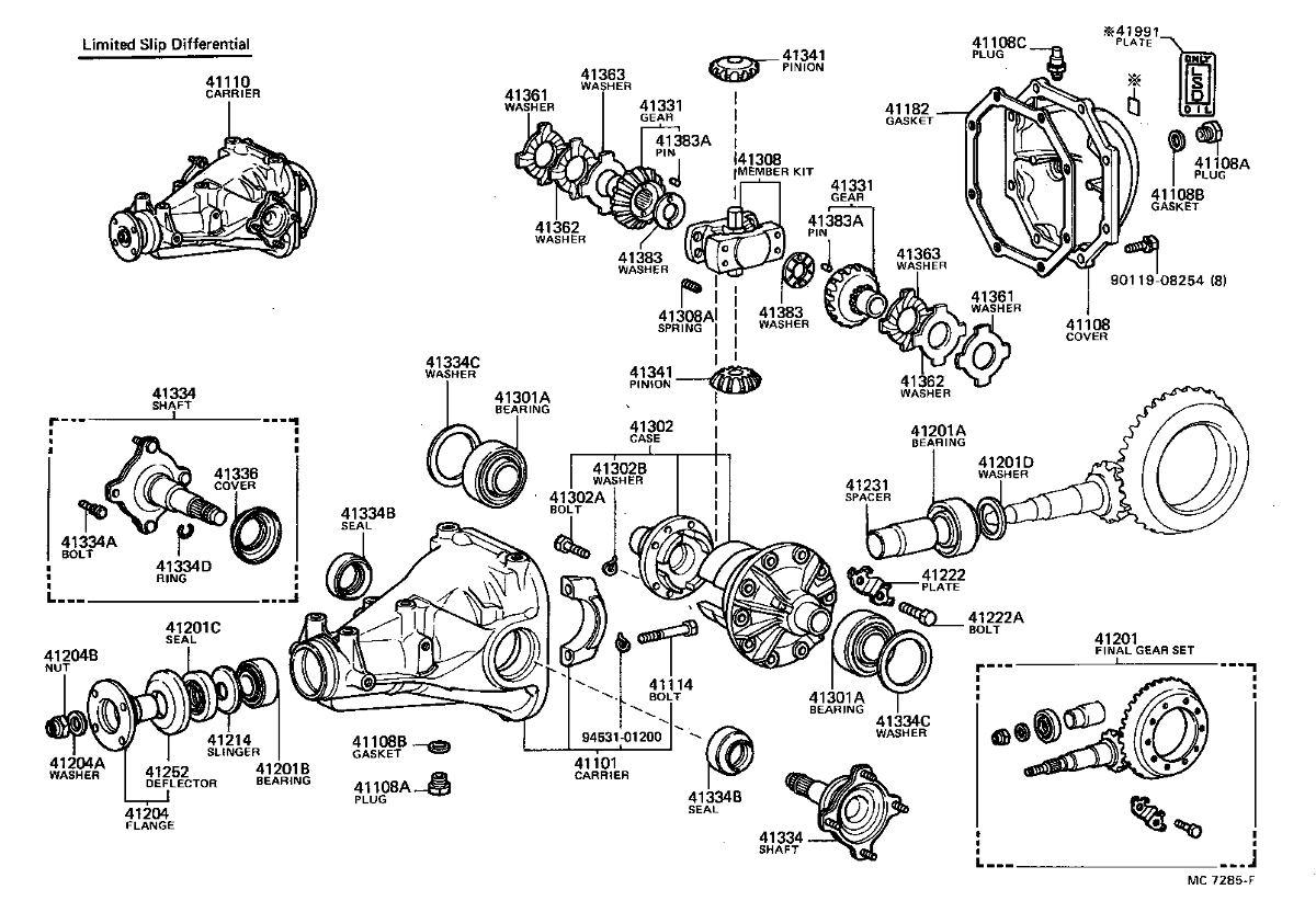 Software De Despiece Toyota Land Cruiser 80 Series