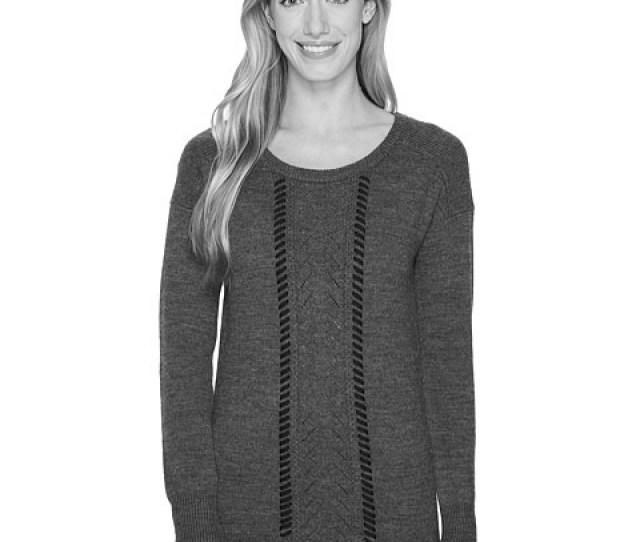 Sweater Blanc Noir Pointelle 14071374