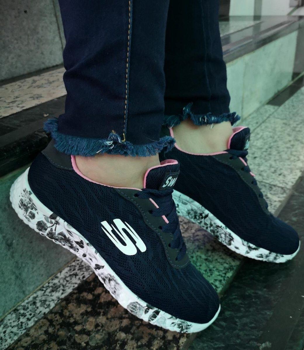 Skechers Microburst One Up Black Fashionmodelo